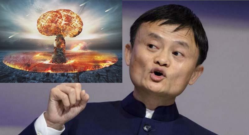 Image result for Jack Ma ព្រមានថា សង្គ្រាមលោកទី៣
